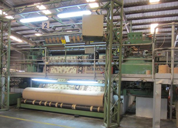 Crabtree Stage IVAX Axminster Gripper Electronic jacquard 3.6m  jacquard