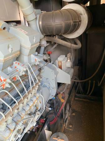 Mitsubishi S16R-Y2PTAW-1 - 1600 kW Mobile Power Module 1600 kW