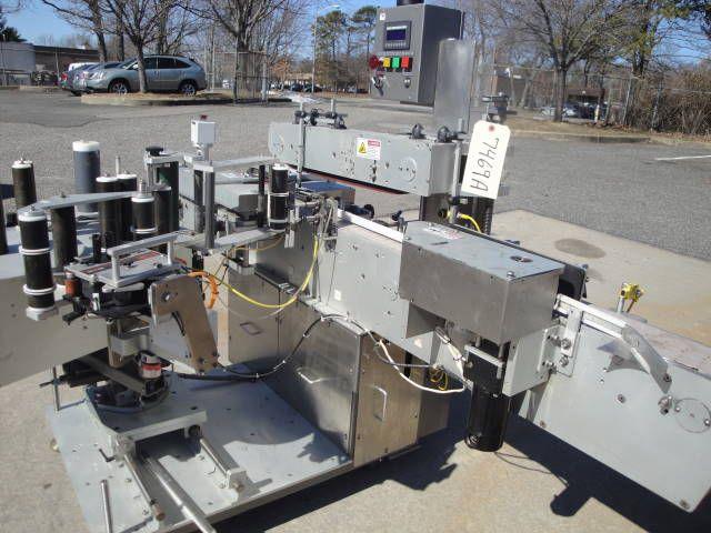 LSI 4500, AUTOMATIC PRESSURE SENSITIVE LABELING MACHINE