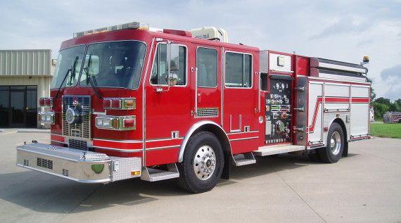Sutphen Custom Rescue Pumper