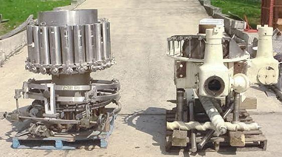Pfaudler RP-1321, Rotary Piston Filler