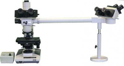 Olympus BHTU Trinoclar Microscope with 3 Head Viewing Setup