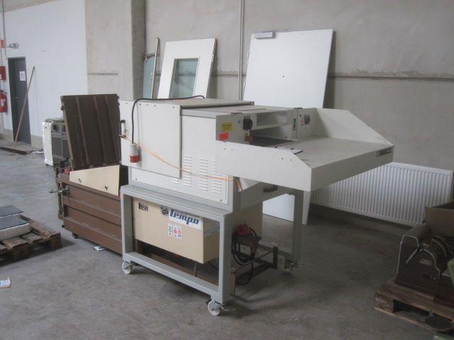 HSM Pressen FA 490, Industrial shredder + HSM baler