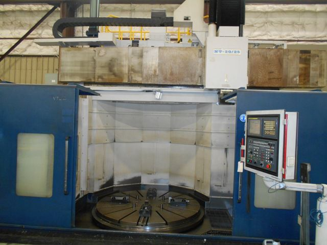 HNK NT-20-25 CNC VERTICAL BORING MILL