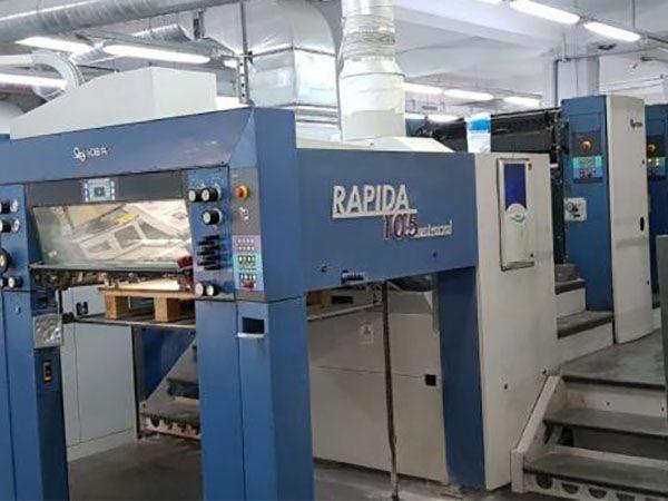 KBA RAPIDA 105 6 + L Universal