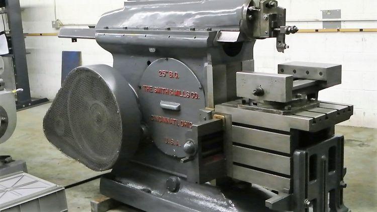 "Smith 25"" Heavy Duty Mechanical Horizontal Shaper 103 SPM"