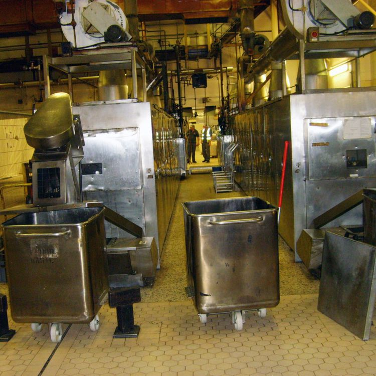 2 Hebenstreit BACW71L Wafer Oven Lines
