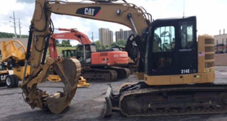 Caterpillar 314E L CR Tracked excavators