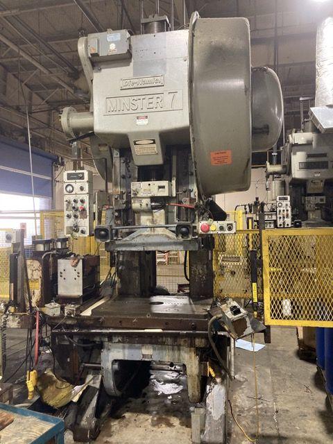 Minster 7 Die-Namic OBI Geared Press 75 Ton