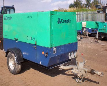 Compair, Holman C110-9 Compressor 400cfm @ 125psi