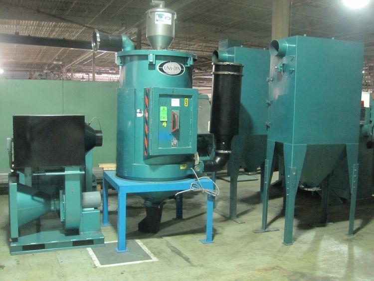 Una Dyn HD-40, Dehumifying Hopper Dryer