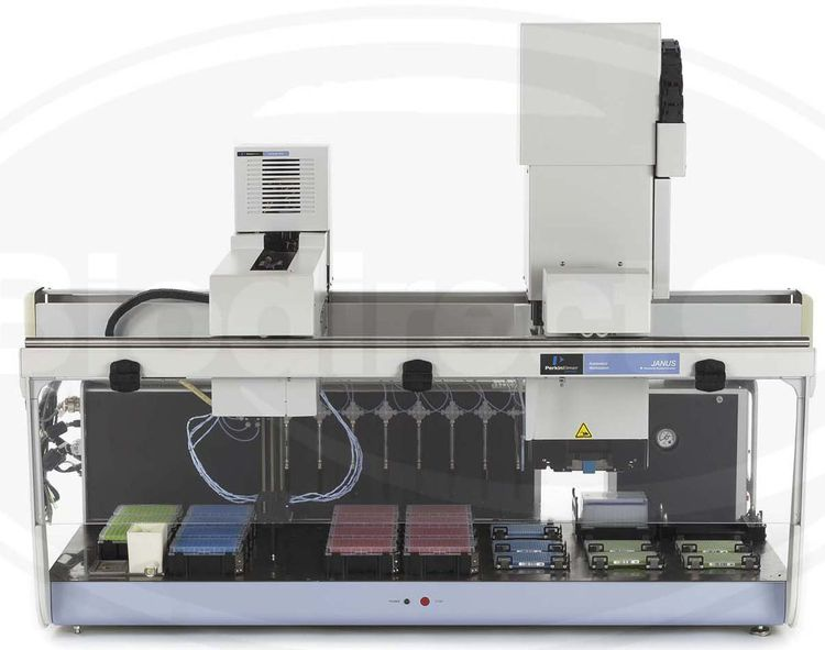 Perkin Elmer JANUS Expanded, Varispan 8, MDT Liquid Handler
