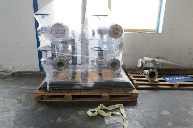 ALMET-SOMOS Dryer for flake PA, PES, PP... 3 Colours