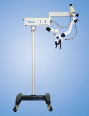 Seiler 202 ENT SURGICAL MICROSCOPE with FLOOR STAND and CHOICE of BINOCULARS