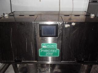 Roaches Pyrotec 2000, Lab Dye Machine