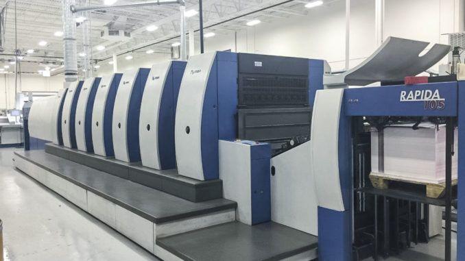 KBA RA105-6+ALV CX – Hybrid UV/IR 29 x 41 inch
