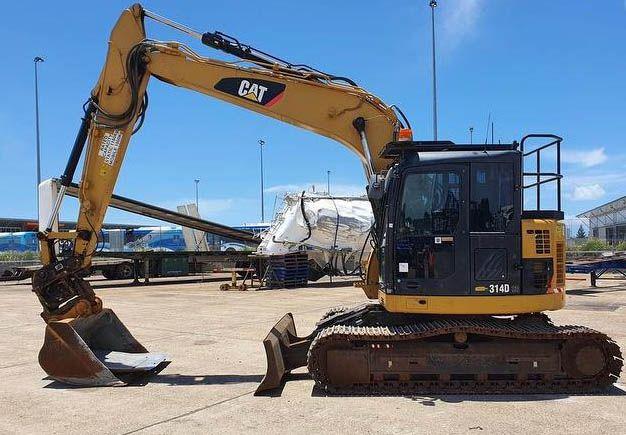Caterpillar 314DCR Excavator