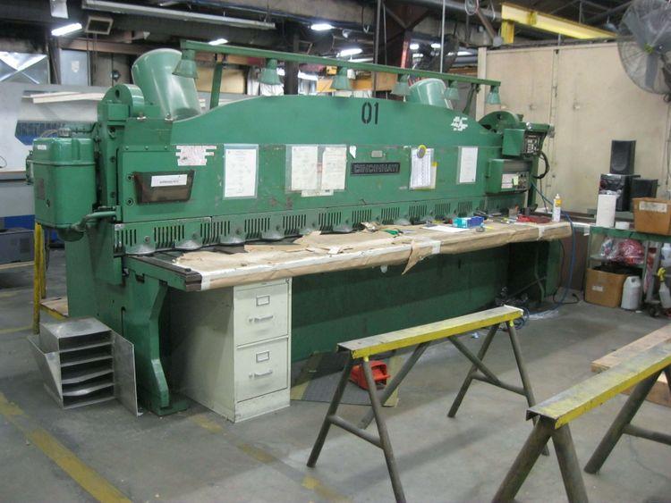 Cincinnati 2CC12 Mechanical Power Squaring Shear