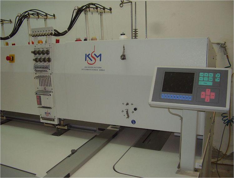 Ksm SM3 - 225 / 04 – 530 / 03, Multihead Embroidery Machines 4 8 450 X 430 MM