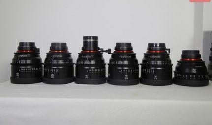 Rokinon Xeen Cinema lenses For Canon