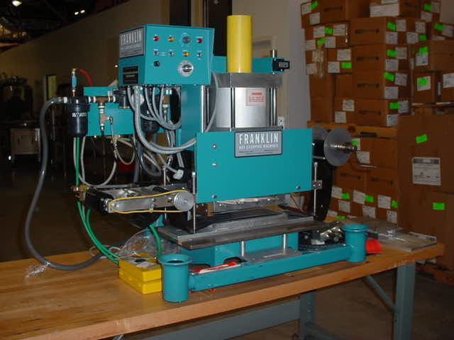 Franklin HOT STAMP IMPRINT MACHINE, TABLE TOP