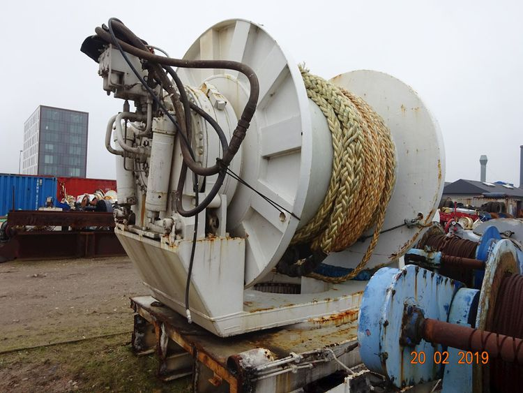 Odim Seismic Towing Winch High Pressure Winch & Netdrums