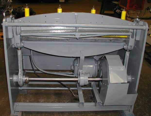 Whitney Jensen 724, Gauge Power Squaring Shear