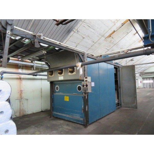 Thies T150 180 Cm Discontinuous batch tumbler