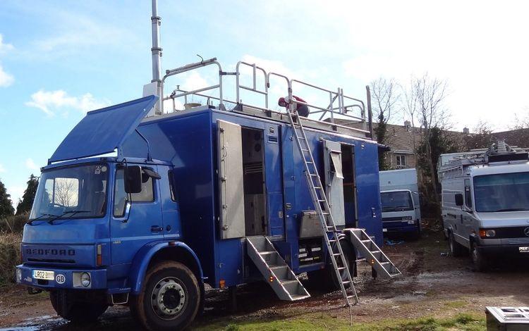 Euro4 uplink / links truck