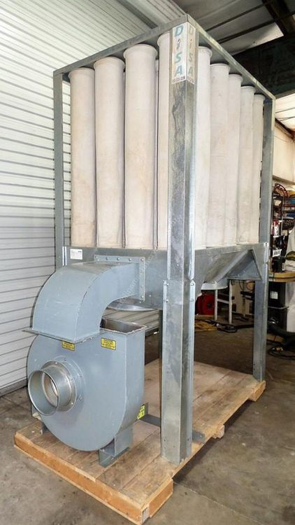 Disa, Nederman S-750, Dust Collection system
