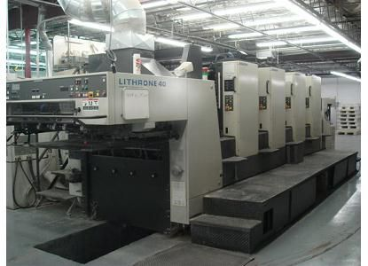 Komori L440, 4 Colors Offset Machine Max. 52 x 72 cm