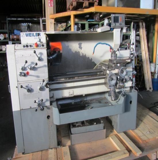 Weiler Engine Lathe Variable DA 210 x 1000