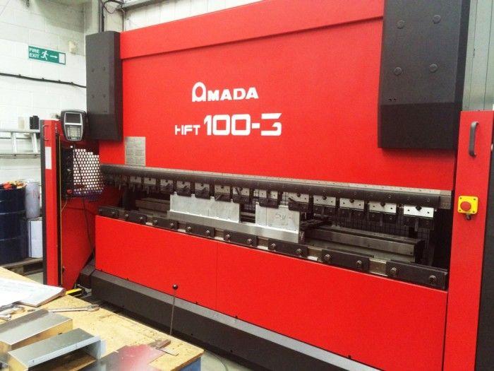 Amada HFT 103 100 Ton