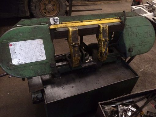 Rusch HBS250 Horizontal Bandsaw Automatic