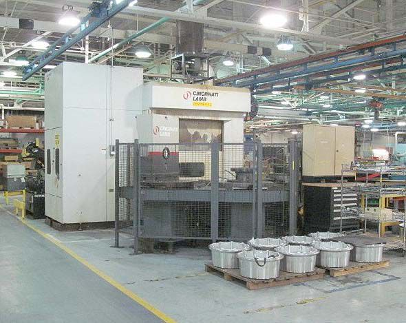 Cincinnati Siemens Acramatic 2100di CNC Control with Color CRT 8000 RPM Geminex 5H-800MT 2 Axis