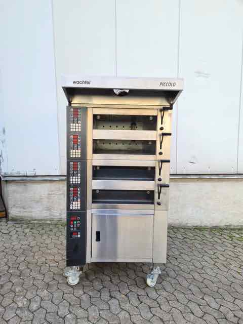 Wachtel Piccolo I-4 DMS 3 Timer Deck Oven