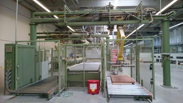 Bargstedt TBP 01/D Lacquer application line