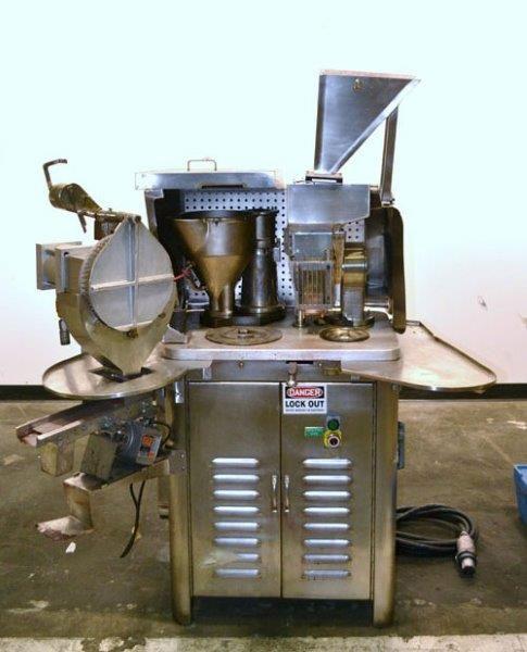 Schaefer (Parke Davis Type 8) semi-automatic capsule filler