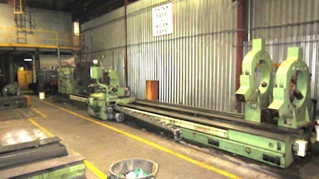 WMW Niles, Zerbst Gap Bed Heavy Duty Lathe Variable DPS1
