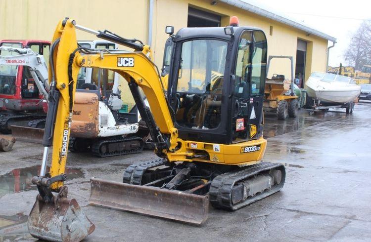 JCB 8030 mini excavator