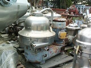 Westfalia Sig-15007 nozzle ejector centrifuge
