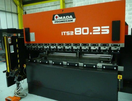 Amada ITS2 8025 80 Ton