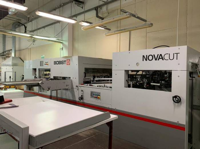 Bobst NOVACUT 106, Die Cutting machine