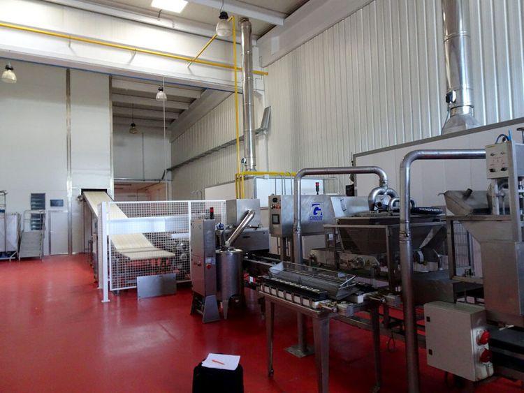 Dubor Tarten Line 600 kg dough / hour