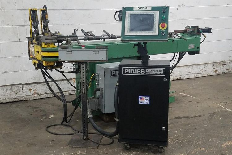 "Pines 1-1/8"" #1400 horizontal type tube bending machine"