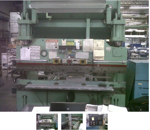 Cincinnati Autoshape, CNC Forming Center Max. 90 TON