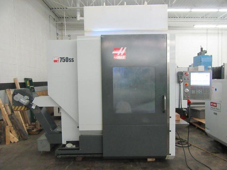 "Haas UMC-750SS X: 30"", Y: 20"", Z: 20"""