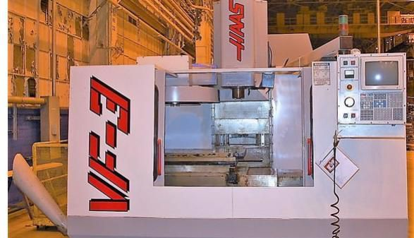 Haas VF-3 (2-Pallet) 3 Axis