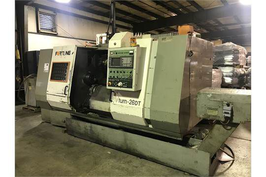 Fortune, Victor FANUC 18T CONTROL 3500 rpm VTURN-26 DT 2 Axis