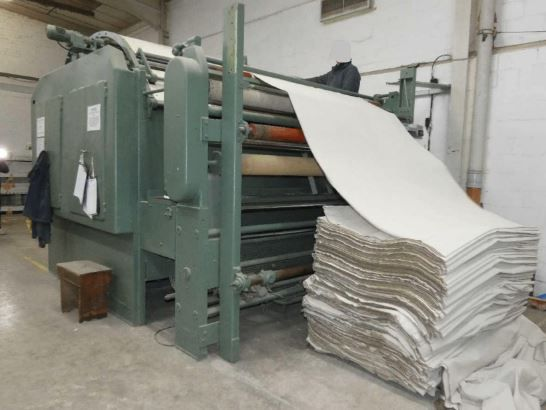 Monforts Synchronised Pla i ting and Palletising 220 Cm